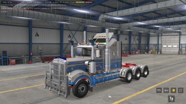 "American Truck Simulator ""Грузовик - Kenworth T900 Legend [Frank Peru] ATS 1.37.x"""
