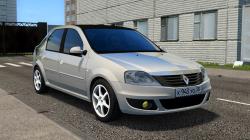 "City Car Driving ""Renault Logan Light Tuning (1.5.9.2)"""
