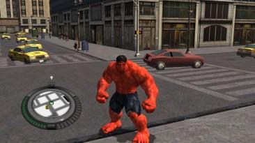 "The Incredible Hulk ""Red Hulk mod"""