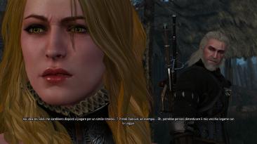 """Witcher 3 """"Новая внешность Кейры"""""""