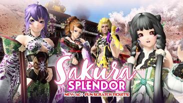 Трейлеры Phantasy Star Online 2 представляющие событие Sword Art Online и коллекцию Sakura Splendor