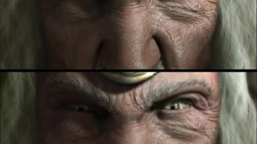 Warcraft 3 - Сравнение улучшенного ролика вступления людей и оригинала