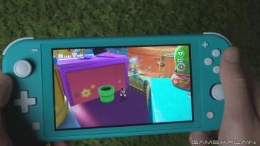 """Как собирать """"подземные"""" луны в Super Mario Odyssey на Switch Lite"""