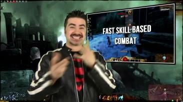 Guild Wars 2 - обзор от Angry Joe [Русская озвучка]