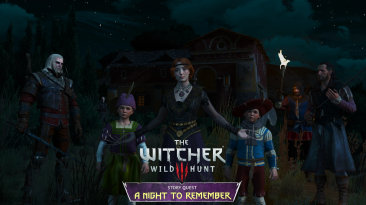 Вышел новый мод для The Witcher 3 добавляющий новый отдельный квест A Night to Remember