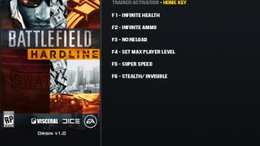 Battlefield: Hardline: Трейнер/Trainer (+6) [1.0] {LinGon}