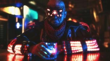 Косплей на Ви и психопата из Cyberpunk 2077