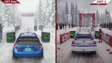 Сравнение   DiRT Rally (2015) vs. DiRT 4 (2017)   PC   ULTRA