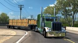 """American Truck Simulator """"Прицеп Benson Dropdeck в собственность"""""""