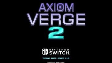 Студия Thomas Happ Games анонсировала продолжение популярной метроидвании Axiom Verge
