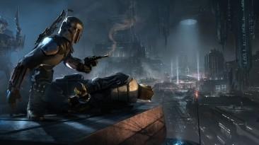В сеть попали скриншоты и концепты отмененной Star Wars 1313, показывающие нижний уровень Корусанта