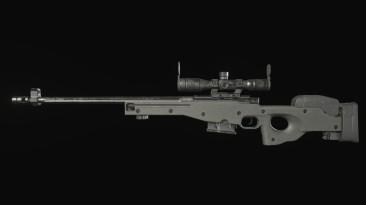 "Resident Evil: Village ""Снайперская винтовка L96A1"""