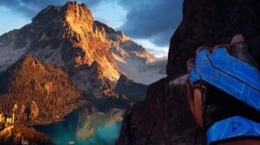 Альпы в симуляторе скалолазанья The Climb