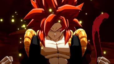Gogeta (SS4) присоединяется к составу Dragon Ball FighterZ на этой неделе