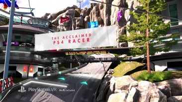 Трейлер VR-версии Wipeout: Omega Collection