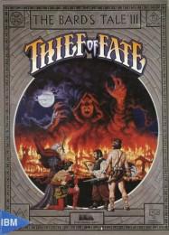 Обложка игры The Bard's Tale 3: Thief of Fate
