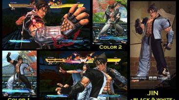 "Street Fighter X Tekken ""Jin - Black and White"""