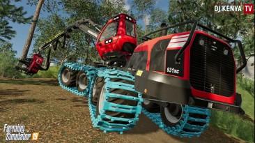Farming Simulator 19 - Лесозаготовка KOMATSU