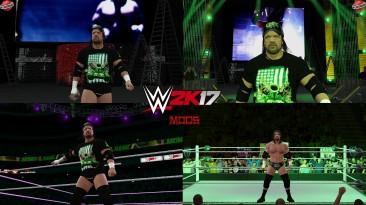 "WWE 2K17 ""Triple H Summerslam 2009 Наряд (Лицевая анимация) WWE 2K19 Порт мод"
