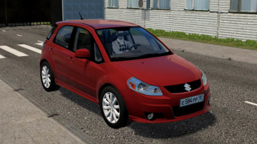 "City Car Driving ""Suzuki SX4 Sportback 2011 (1.5.9.2)"""