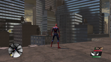 "Spiderman Web Of Shadows ""Улучшение графики [Artsate]"""