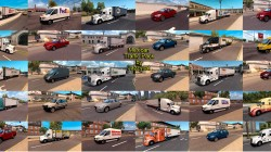 "American Truck Simulator ""Пак мексиканского траффика v2.1"""