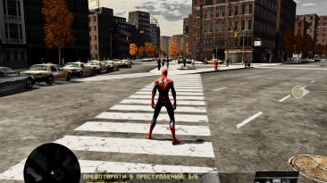 """Spider-Man: Web of Shadows """"Нуарная графика"""""""
