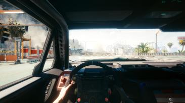 """Cyberpunk 2077 """"Изменение угла обзора в машине"""""""
