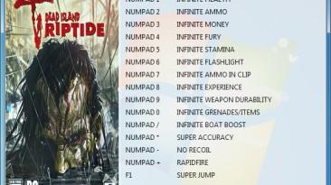 Dead Island - Riptide: Трейнер/Trainer (+17) [1.4.1.1.10] {GRIZZLY / PlayGround.ru}