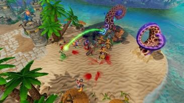 Солнце, море и свирепые дикари в дополнении Evil of the Caribbean к Dungeons 3