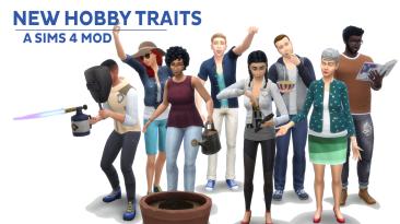 "The Sims 4 ""Новые хобби"""