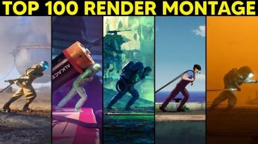 Завораживающий монтаж 3D-художников, использующих одну и ту же анимацию