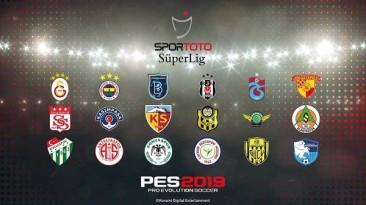 "PES 2019 ""Spor Toto Sper Lig Forma Paketi V2"""