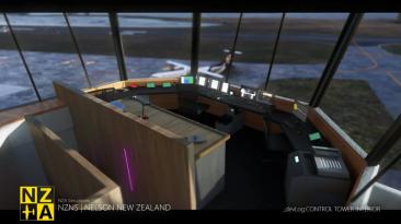 Тизер-трейлер надстройки аэропорта Нельсон для Microsoft Flight Simulator