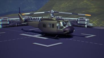 "Besiege ""Вертолёт Bell uh-1"""