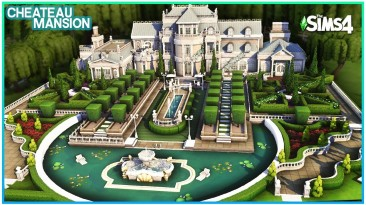 """The Sims 4 """"Огромный замок"""""""
