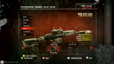 """Army of Two The: 40th day """"Кастомизация оружия"""""""