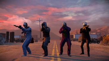 Первые скриншоты нового DLC для Payday 2