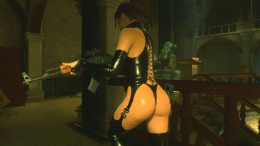 "Resident Evil 2 ""Клэр в латексе"""
