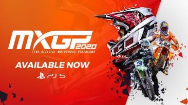 MXGP 2020 стала доступна на Playstation 5