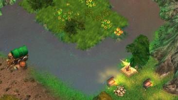 "Heroes Of Might And Magic 5: Повелитель орды ""Карта - Fire Lake"""