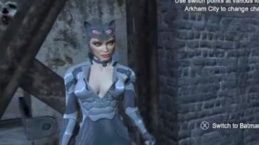 "Batman: Arkham City ""Скин Женщины-Кошки из Armoed Edition (Wii U)"""