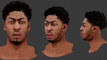 """NBA 2K14 """"Anthony Davis Cyberface"""""""