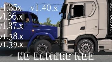 Euro Truck Simulator 2: Чит-Мод/Cheat-Mode (Без Урона / No damage) [1.40]