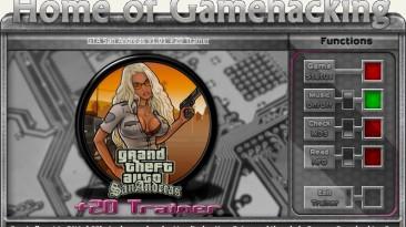 Grand Theft Auto ~ San Andreas: Трейнер/Trainer (+20) [1.01] {sILeNt heLLsCrEAm / HoG}