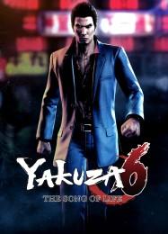 Обложка игры Yakuza 6