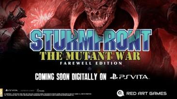Состоялся анонс SturmFront - The Mutant War: Farewell Edition для PS Vita