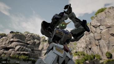 Еще несколько скриншотов Gundam Evolution