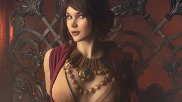 Косплей Морриган из Dragon Age: Origins