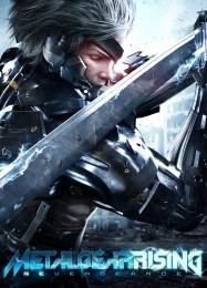 Обложка игры Metal Gear Rising: Revengeance